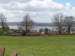 The view from Al- la Ronde